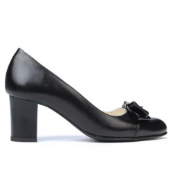 Women stylish, elegant shoes 1265 black