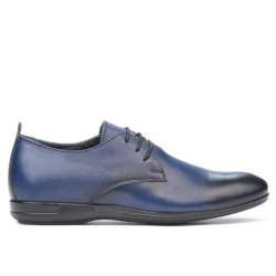 Teenagers stylish, elegant shoes 370 a indigo