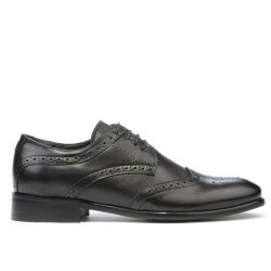 Men stylish, elegant, casual shoes 874 black