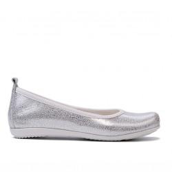 Pantofi copii 100 alb sidef