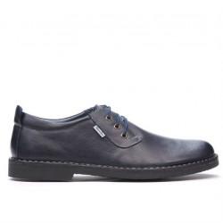 Men casual shoes (large size) 7201-1m indigo