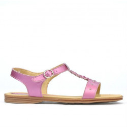 Women sandals 5011 pink pearl