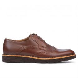 Men casual shoes 831-1 brown