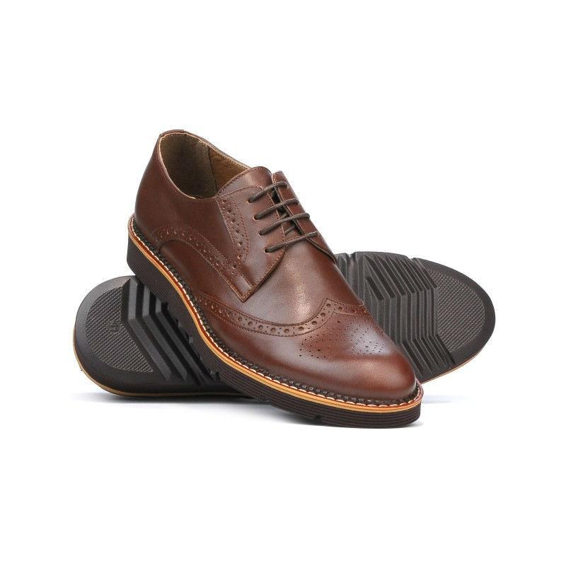 en-gros online super dragut prețuri de vânzare cu amănuntul Pantofi casual barbati 831-1 maro. Piele naturala.