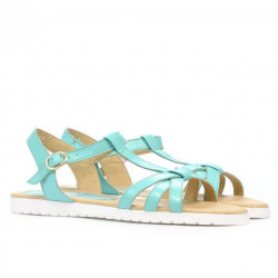 Women sandals 5038 turcoaz