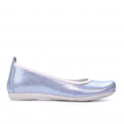 Children shoes 100 bleu pearl