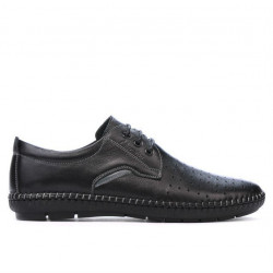 Men loafers, moccasins 871 black