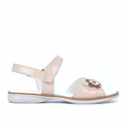 Children sandals 524 patent nude