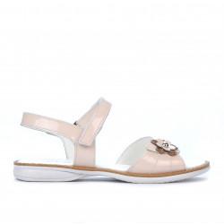 Children sandals 524 patent nude