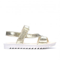 Children sandals 525 golden