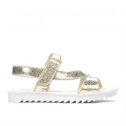 Children sandals 525 golden