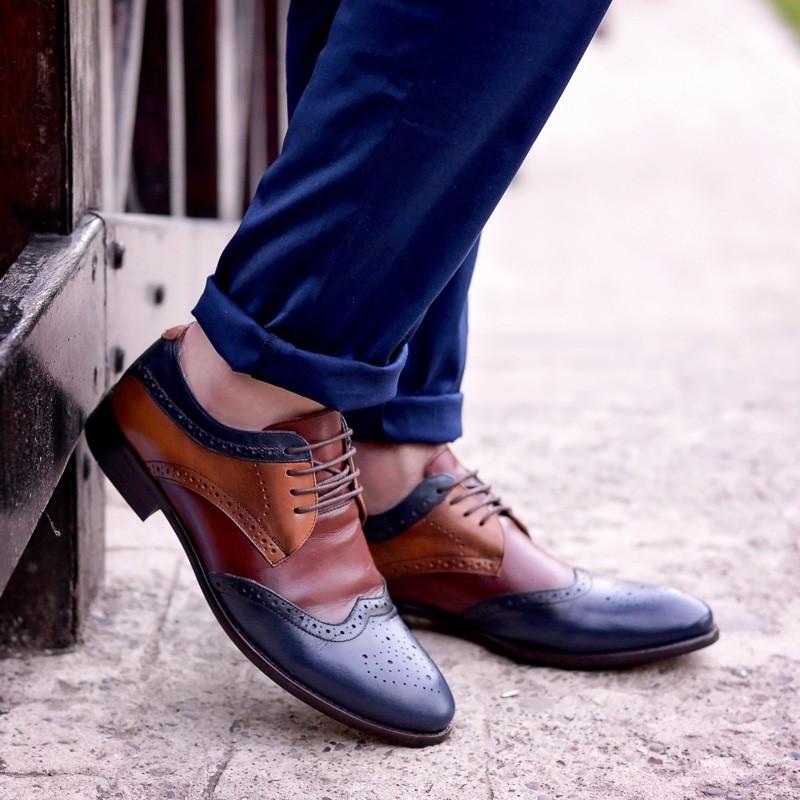 Pantofi casual / eleganti barbati 874 indigo+maro lifestyle