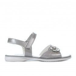 Children sandals 524 patent gray