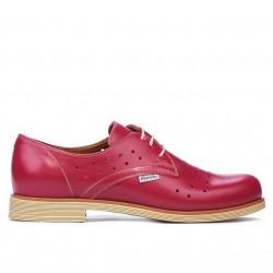 Pantofi casual dama 678 ciclam