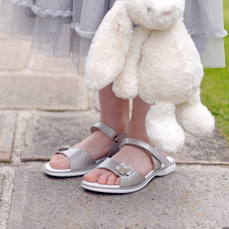 Sandale copii 524 lac gri lifestyle