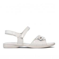 Children sandals 524 patent white