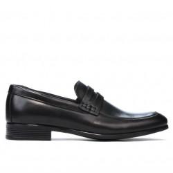 Men stylish, elegant, casual shoes 875 black