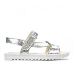 Children sandals 525 silver