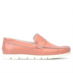 Women loafers, moccasins 692 rosa