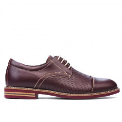 Men casual shoes 873 bordo