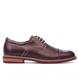 Pantofi casual barbati 873 bordo