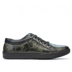 Pantofi casual/sport barbati 841 verde camuflaj