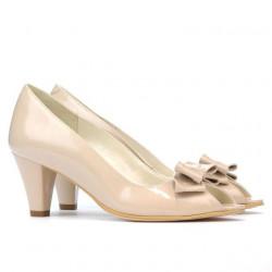 Sandale dama 1255 lac ivoriu