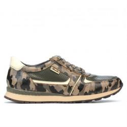 Men sport shoes 833 cafe camuflaj