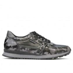 Men sport shoes 833 gray camuflaj