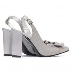 Women sandals 1267 gray antilopa combined