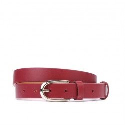 Women belt 06m bordo
