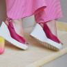 Women sandals 5026 cyclam