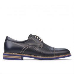 Men casual shoes 873 indigo