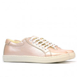 Women sport shoes 695 pudra pearl