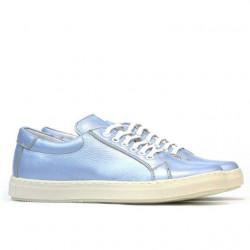 Women sport shoes 695 bleu pearl