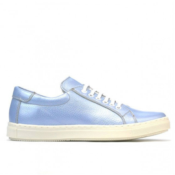Pantofi sport dama 695 bleu sidef
