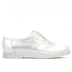 Women casual shoes 693 white pearl combined