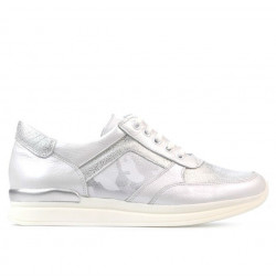 Women sport shoes 694 white pearl combined