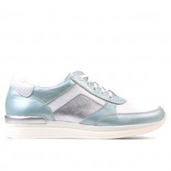 Women sport shoes 694 turcoaz pearl combined