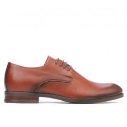 Pantofi eleganti adolescenti 371 a coniac