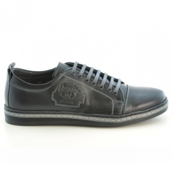 Men casual, sport shoes 766 black