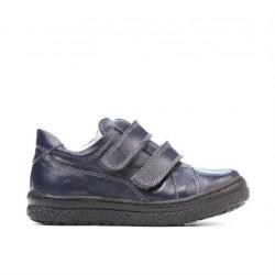 Pantofi copii mici 61c indigo