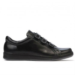 Pantofi sport adolescenti 369sc negru scai
