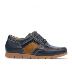 Children shoes 164 indigo+brown