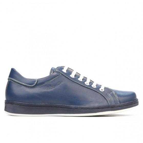 Teenagers stylish, elegant shoes 369 indigo