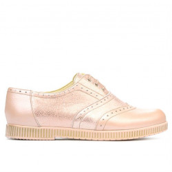 Women casual shoes 693 pudra pearl combined