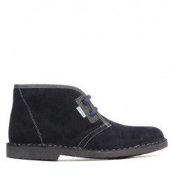 Women boots 7101 indigo velour