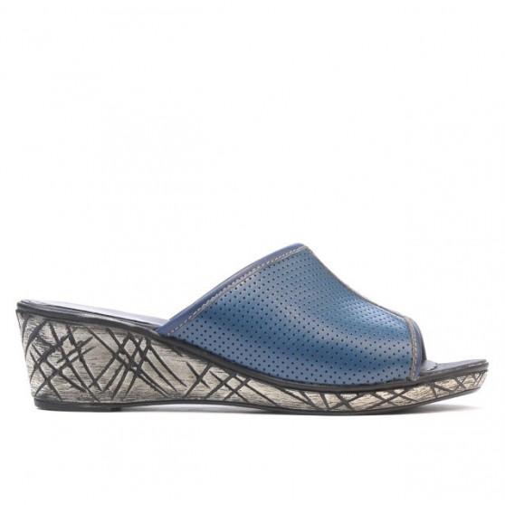 Women sandals 5004p indigo perforat