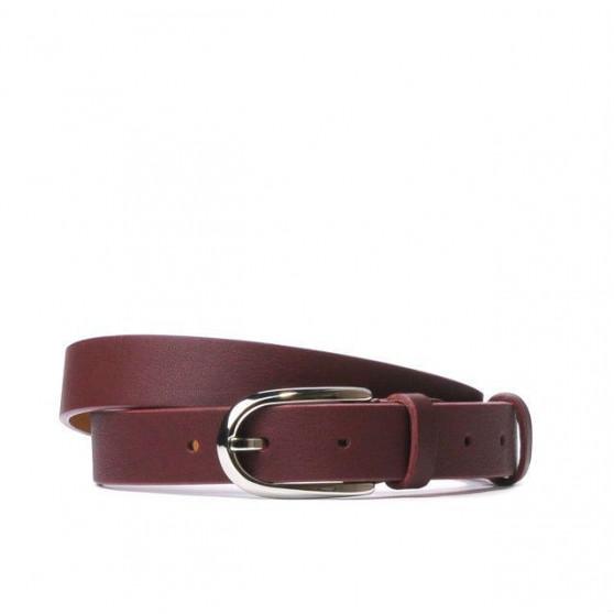 Women belt 06m burgundy