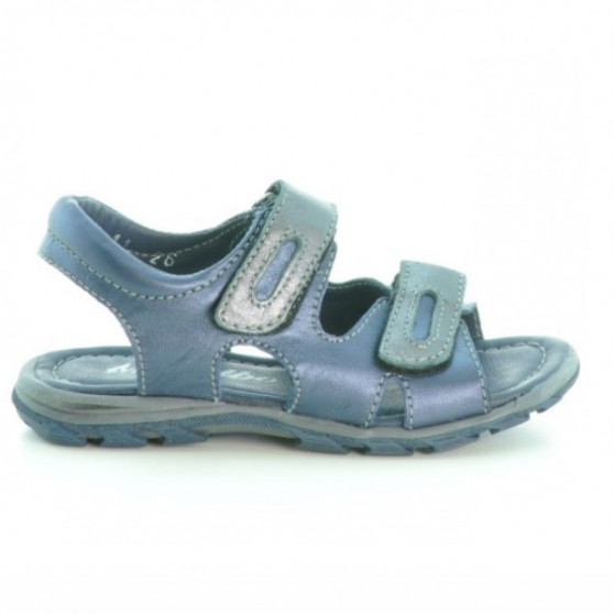 Small children sandals 11c indigo+gray